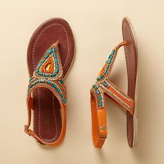 Sandals With Lots Of Color Go Well With A Solid Shirt That Is One Of The Colors And White Shorts Or Skirt  @funColors