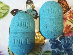 Blueberry Bath Bomb by MermaidLounge on Etsy