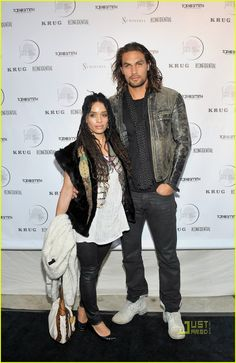 Jason Momoa & Lisa Bonet: She is the most lucky woman ever to come home to him.