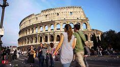 Italie, Rome Coliseum
