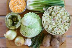 Hungry Harps: Irish Potato Salad Clean Eating Recipes, Cooking Recipes, Great Recipes, Dinner Recipes, Warm Potato Salads, Irish Potatoes, Macaroni Salad, Irish Recipes, Vegetable Side Dishes