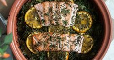 Salmon Fricassee