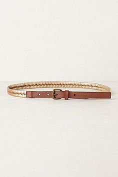 Fishtail Belt #anthropologie