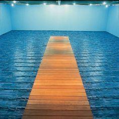 A instalação Marulho – Cildo Meireles