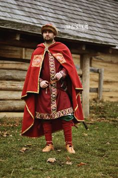 Viking Reenactment, Viking Costume, Medieval Costume, Medieval Dress, Norse Clothing, Medieval Clothing, Costume Russe, Larp, Ancient Greek Art