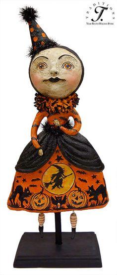 Bethany Lowe Designs Halloween Monkey Business Figurine Halloween - vintage halloween decorations