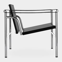 LC-1 Chair  This icon of an era was designed by three architects, Le Corbusier, Pierre Jeanneret, and Charlotte Perriand, who were forerunners of the International Style.