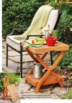 3049-Folding Tray Table Plans