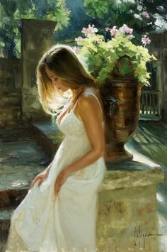 Born in the city of Khabarovsk, Vladimir Volegov began painting when he was three years old. Vladimir honed his skills during a trip, drawing portraits on the… Realistic Paintings, Old Paintings, Beautiful Paintings, Woman Painting, Figure Painting, Painting & Drawing, Vladimir Volegov, Beauty In Art, Russian Art