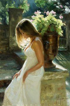 A magic moment I remember - Obra de Vladimir Volegov #painter #painting #art