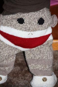 Yup, sock monkey woollies next!