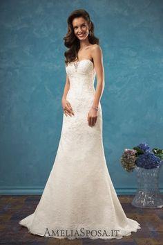 Amelia Sposa Strapless Wedding Dresses Bruna