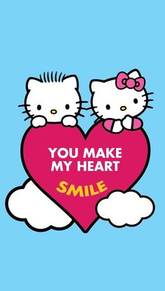 Hello kitty kkk pinterest hello kitty fondos y fondos de pantalla - Hello kitty et mimi ...