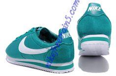 100% authentic 46982 a042b Nike Classic Cortez Nylon Mens Cade Blue White 488291 303