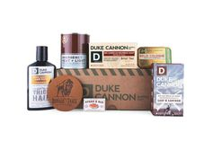 Duke Cannon is a brand any self-respecting American man needs to know, and know intimately. That's because this is personal hygiene brand, and personal hygiene is intimate stuff. But don't confuse … Mustache Grooming, Beard Grooming Kits, Beard No Mustache, Men's Grooming, Steak And Ale, Mens Soap, Personal Hygiene, Spa Day, Beauty Nails