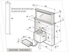 hotte escamotable de dietrich dhd 1101 x 015 pro pinterest hotte escamotable hotte et quai. Black Bedroom Furniture Sets. Home Design Ideas