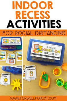 Indoor Recess Activities For Social Distancing