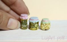 Pickles jars by LugartPetit on etsy