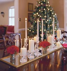 lovely and simple...need  alot of candlesticks though