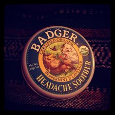 #badgerbalm is the best #headache relief! #stressedout #lavender #peppermint #smellsnice - via @strawberrymento
