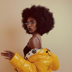 black women models for club flyers Black Girl Magic, Black Girls, Pretty People, Beautiful People, Beautiful Eyes, Beautiful Pictures, Curly Hair Styles, Natural Hair Styles, By Any Means Necessary