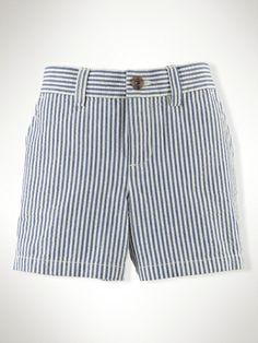 Seersucker Preppy Short - Infant Boys Shorts - RalphLauren.com