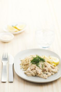 Salmon and Dill Mornay
