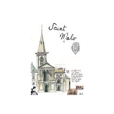Illustrations ❤ liked on Polyvore featuring backgrounds, drawings, buildings, fillers, cities, doodle and scribble
