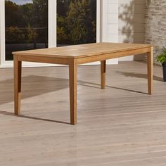 Regatta Rectangular Dining Table - Crate and Barrel