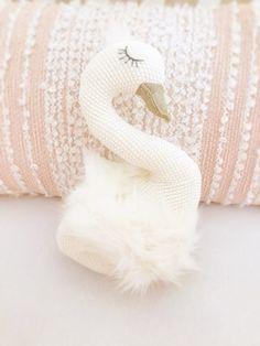 Swan Nursery Pillow
