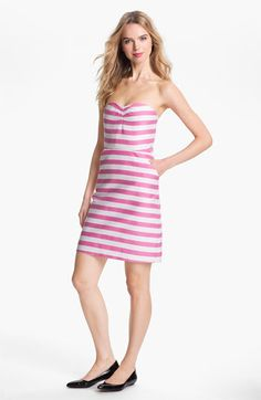 kate spade new york betsy cotton & silk sheath dress | Nordstrom