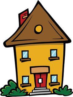 En los fines de semana yo quedo en mi casa Cartoon house Harvest party Child rearing