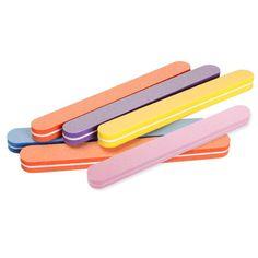 5 개 고품질 네일 파일 버퍼 샌딩 빨 매니큐어 도구 네일 아트 폴란드어 사포 스트립 바 세트 연마 파일 도구
