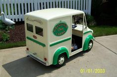 Little Milk Truck !could also be a little ice cream truck