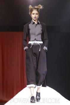 Yohji Yamamoto -- s/s 2012 rtw Paris