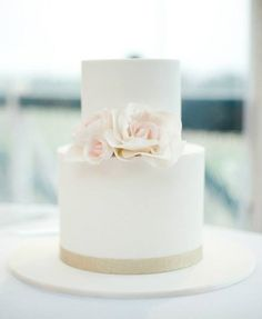 Glamorous Ranch Affair San Luis Obispo Ca Wedding Cake Gold