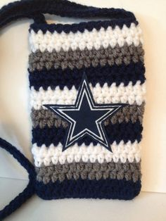Dallas Cowboys Themed phone case with Handle  Can by KITTYKAT01212, $17.00