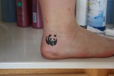 Panda tattoo (: I have to get this!!! My bestie is Amanda and I call her Panda!