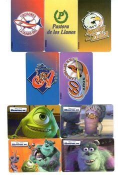 9 Phonecard / Tarjeta Telefonicas Venezuela Cantv  Beisbol profesional Vzla