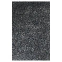 Abacasa Comfort Shag Area Rug Charcoal - 3002-8X10