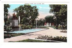 Eau Claire Wisconsin Vintage Postcard by PicturesFromThePast
