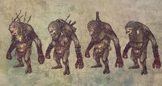 The Witcher 2 Concept Art - Troll