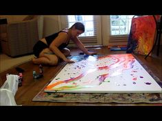 Psychedelic Time Lapse Painting