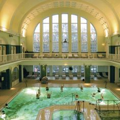 Holthusen Spa @ Holthusenbad (Eppendorf) - a beautiful art nouveau bath.
