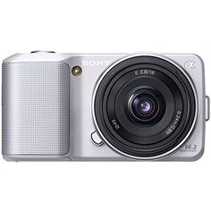 Introducing Sony Alpha NEX3 Compact Interchangeable Lens Digital Camera w16mm Lens Silver 142 Mpix. Great product and follow us for more updates!