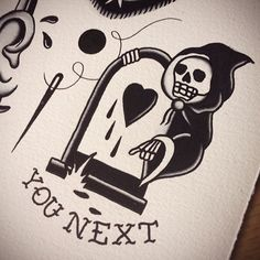 Grim Reaper, death.