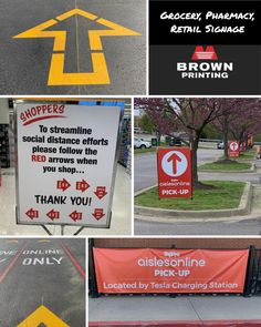 Our wide format division has been helping customers with critical signage to keep patrons safe while in store. #covid19 #print #essentialbusiness