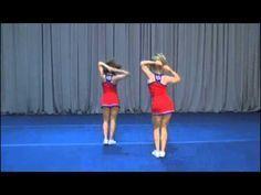 The advance dance I like Uca Cheer Camp, Easy Cheerleading Stunts, Nca Cheer, Cheer Tryouts, Cheer Coaches, Cheer Dance Routines, Cheer Moves, Cheer Jumps, High School Cheer