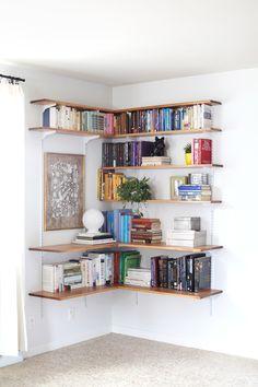 corner shelves! #adjustable!