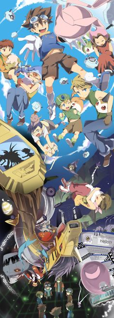 Digimon! The original was the best...